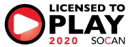 Licensed to PLAY 2020 SOCAN